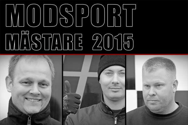 Modsportmästarna för 2015 är korade