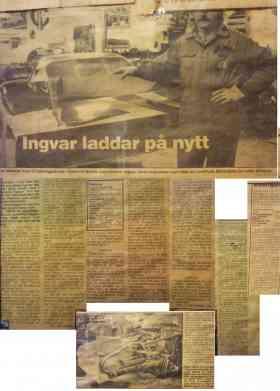 Ingvar Sand en Nordisk Mästare