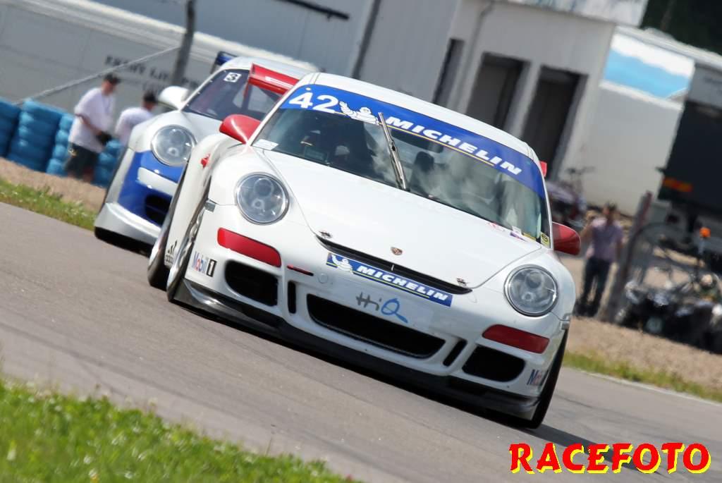 Anders Edlund/ Mats Anstrin Porsche Gt3 Cup